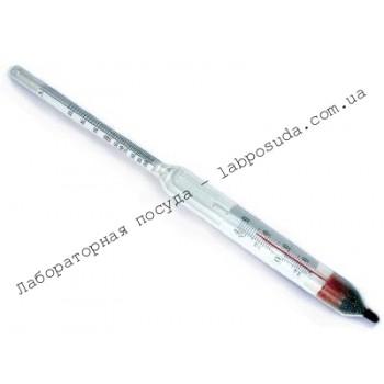 Ареометр-гидрометр с термометром АЭГ