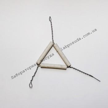 Фарфоровый треугольник для тиглей